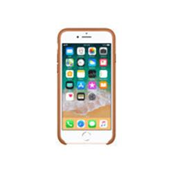 Buy Brand New Apple iPhone 8 / 7 Leather Case - Saddle Brown