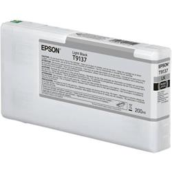 Epson Epson T9137 - 200 ml - light black - original - ink cartridg