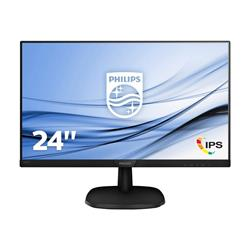 "Philips 243V7QDSB/00 24"" 1920 x 1080 5ms HD VGA DVI HDMI Monitor"