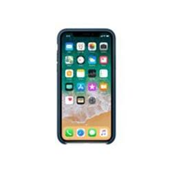 Apple iPhone X Leather Case - Cosmos Blue cheapest retail price