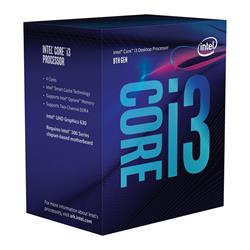 Intel Core i3-8100 8th Gen S1151 3.60GHz 6MB Cache Coffee Lake CPU