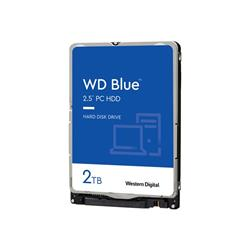 "WD 2TB Blue Mobile 2.5"" 7mm SATA 6Gb/s 128MB Cache"