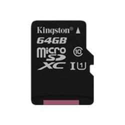 Kingston 64GB Canvas Select Class 10 UHS-I microSDXC