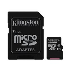 Kingston 128GB Canvas Select Class 10 UHS-I microSDXC