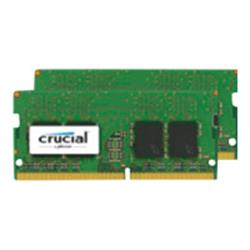Crucial 16GB Kit (8GBx2) DDR4 2400 MT/s (PC4-19200) CL17 SR x8 Unbuf