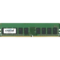 Crucial 16GB DDR4  2666MT/s (PC4-21300) CL19 DR x8 ECC Unbuffered DI