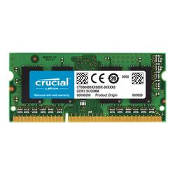 Crucial 4GB DDR3L 1600 MT/s (PC3-12800) CL11 SODIMM 204pin 1.35V/1.5