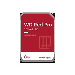 "WD 6TB Red Pro NAS Hard Drive SATA 6Gb/s 3.5"" 256MB"