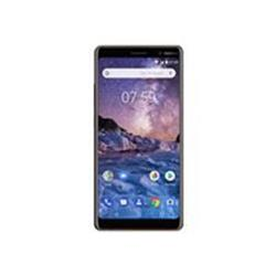 "Nokia 7+ 6"" 64GB 4GB 12MP Android Smartphone - Black"