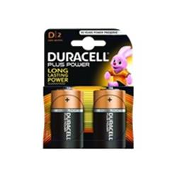 Duracell Plus Power D Cell - 2 Pack
