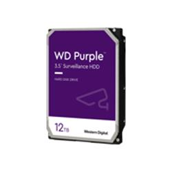 "WD 12TB Purple 3.5"" SATA 6Gb/s 7200RPM 256MB Surveillance Drive"