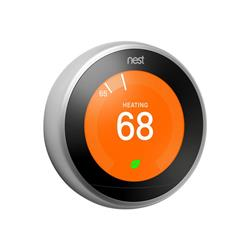 Nest Learning Thermostat - Steel