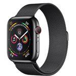 Apple Watch Series 4 GPS + Cellular, 40mm Space Black Stainless Steel Case Space Black Milanese Loop