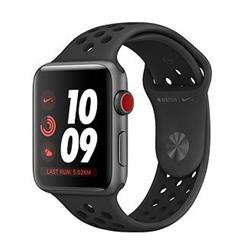Apple Watch Nike+ Series 3 GPS + Cellular, 42mm Space Grey Aluminium Case Anthracite/Black Nike Band