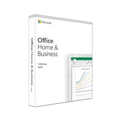Microsoft Office Home & Business 2019 (Medialess, 1 PC, One Time Purchase)