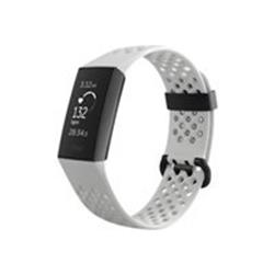 Fitbit Charge 3 SE Fitness Tracker - Frost White Sport / Graphite Aluminium