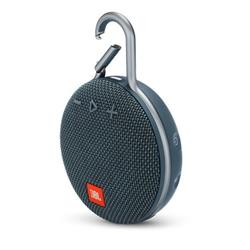 JBL Clip 3 Carabiner Bluetooth Speaker - Blue