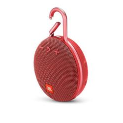 JBL Clip 3 Carabiner Bluetooth Speaker - Red