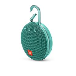 JBL Clip 3 Carabiner Bluetooth Speaker - Teal
