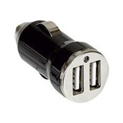 C2G Dual USB Car Charger 12V-2.1A Max