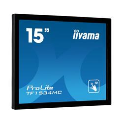 "iiyama ProLite TF1534MC-B5X 15"" 1024x768 8ms VGA HDMI DisplayPort Touchscreen LED Monitor"