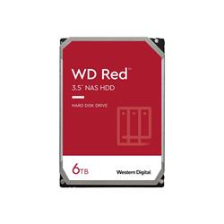"WD 6TB Red 5400 RPM SATA 3.5"" 256MB Hard Drive"