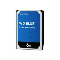 "WD 6TB Blue 5400 RPM SATA 3.5"" 256MB Hard Drive"