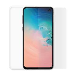 Minute One Glass Screen Protector + Clear Case Bundle - Galaxy S10e