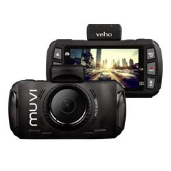 Veho Muvi Drivecam Quad HD Dashcam with GPS, Wifi and App
