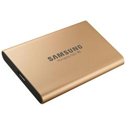 Samsung T5 500GB Portable SSD - Rose Gold