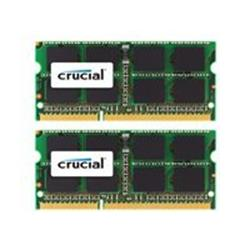 Crucial DDR3 16GB 2 x 8 GB SO-DIMM 204-pin 1600 MH