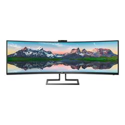 "Philips Brilliance P-line 499P9H 49"" Curved LED Monitor"