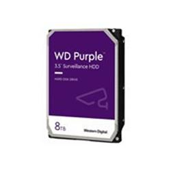 "WD 8TB Purple 3.5"" SATA 6Gb/s 7200RPM 256MB Surveillance Drive"