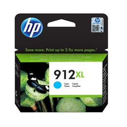 HP 912XL High Yield Cyan Original Ink Cartridge