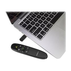 StarTech.com Wireless Presentation Remote w/ Green Laser Pointer - 90'