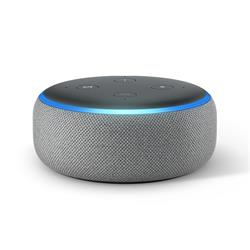 Amazon Echo Dot (3rd Gen) - Heather Grey Fabric