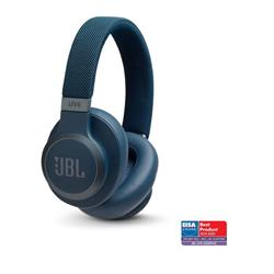JBL Live 650 Wireless Over-Ear NC Headphones - Blue