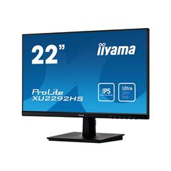 "iiyama ProLite XU2292HS-B1 22"" 1920x1080 4ms VGA HDMI DisplayPort IPS LED Monitor"
