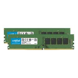 Crucial 8GB Kit (4GBx2) Crucial DDR4 PC4-21300 2666MHz CL17 UDMIMM