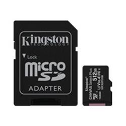Kingston 512GB Canvas Plus micro SD Card