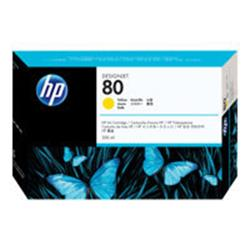 HP 80 350-ml Yellow Ink Cartridge