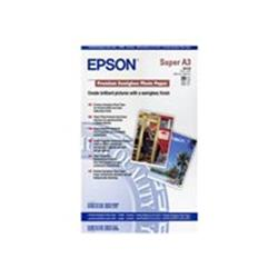 Epson Premium - Semi-gloss photo paper - Super A3 (330 x 483 mm) - 20 sheet(s)